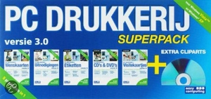 Pc Drukkerij, Superpack 4 (dvd-Rom)