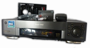 Panasonic Super VHS videorecorder
