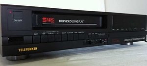 Telefunken Video Cassette Recorder 6000 HiFi