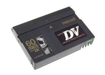 mini-dv tape